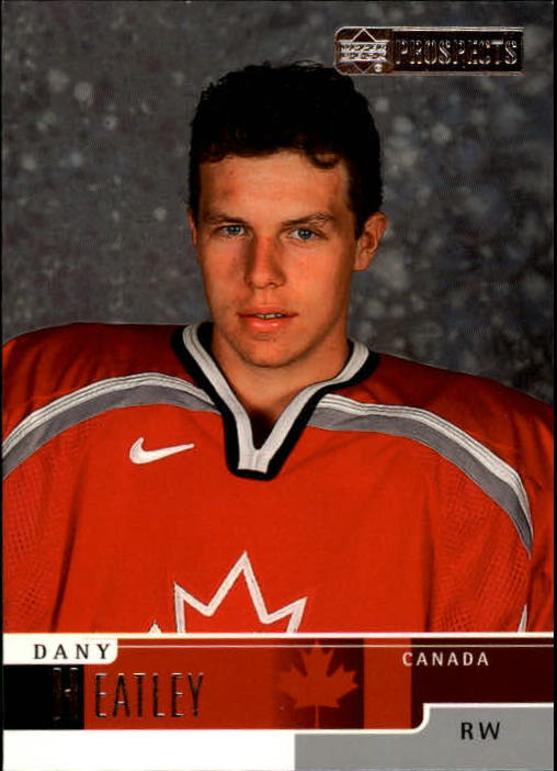 1999-00 UD Prospects #71 Dany Heatley