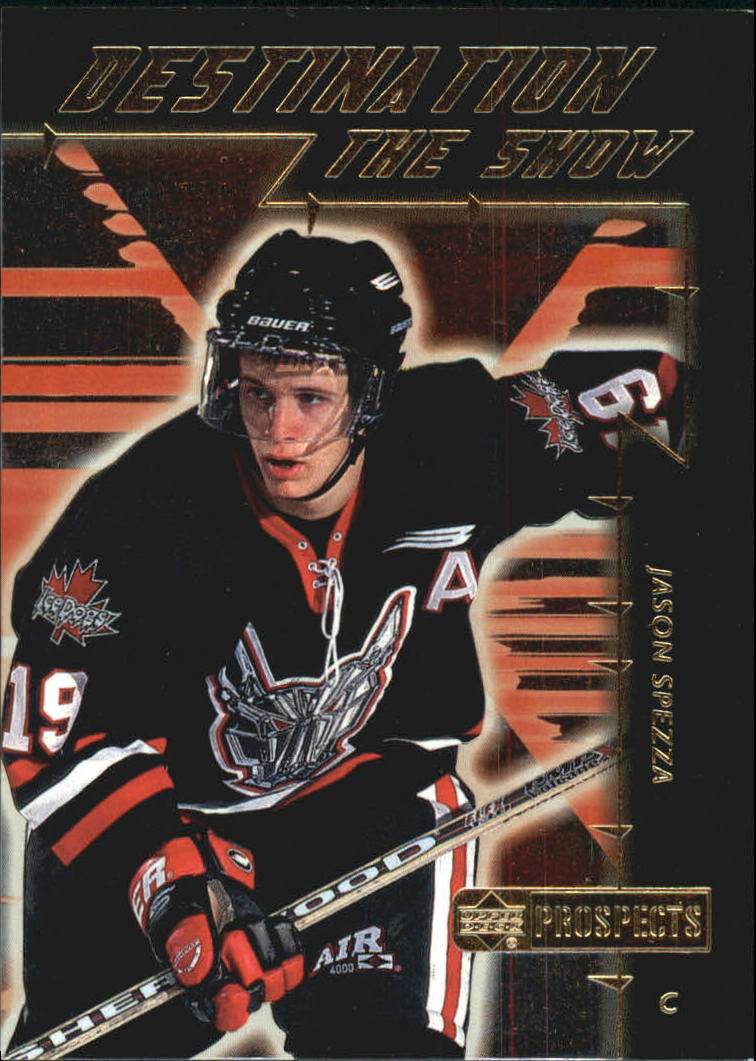 1999-00 UD Prospects Destination the Show #DS1 Jason Spezza