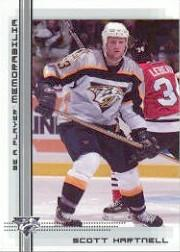 2000-01 BAP Memorabilia #452 Scott Hartnell RC