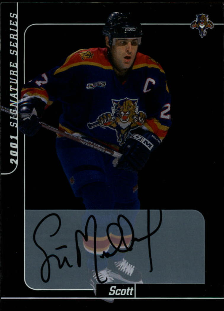 2000-01 BAP Signature Series Autographs #14 Scott Mellanby