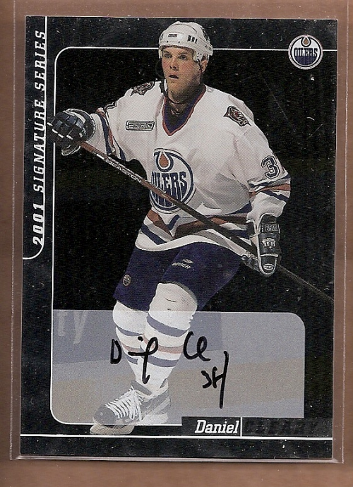2000-01 BAP Signature Series Autographs #29 Daniel Cleary