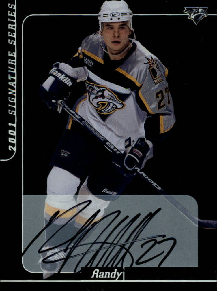 2000-01 BAP Signature Series Autographs #99 Randy Robitaille