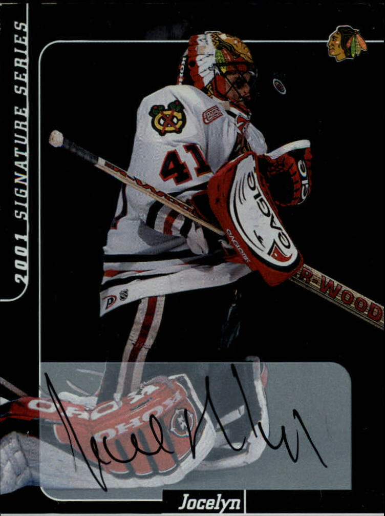 2000-01 BAP Signature Series Autographs #138 Jocelyn Thibault