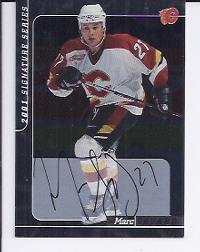 2000-01 BAP Signature Series Autographs #176 Marc Savard