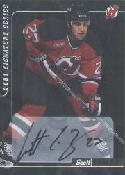 2000-01 BAP Signature Series Autographs #199 Scott Gomez
