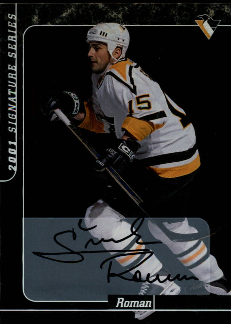 2000-01 BAP Signature Series Autographs #230 Roman Simicek