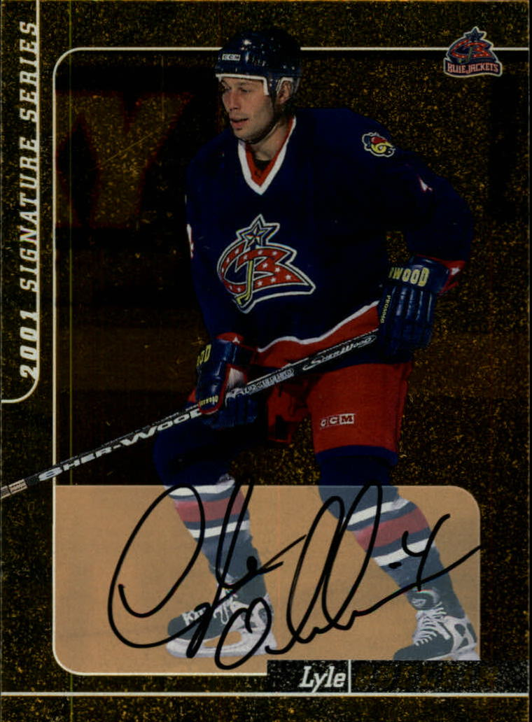 2000-01 BAP Signature Series Autographs Gold #88 Lyle Odelein