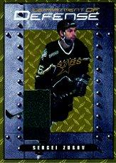 2000-01 BAP Signature Series Department of Defense #DD11 Sergei Zubov
