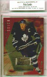 2000-01 BAP Ultimate Memorabilia Game-Used Sticks #GS15 Mats Sundin
