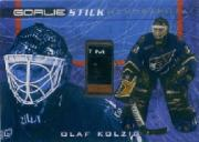 2000-01 BAP Ultimate Memorabilia Goalie Sticks #G30 Olaf Kolzig