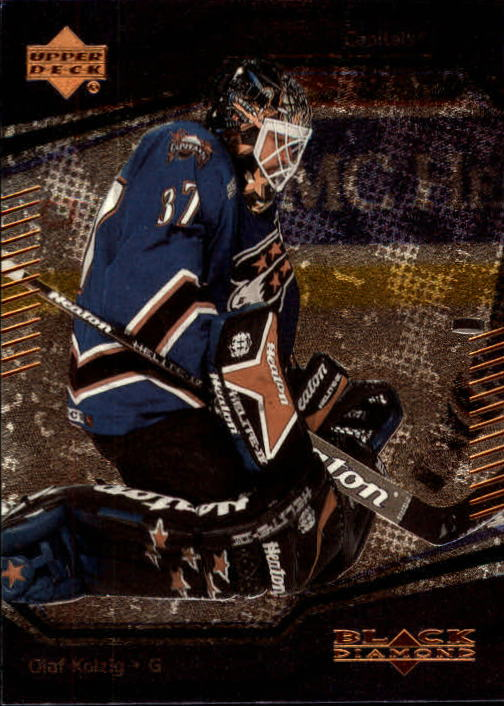 2000-01 Black Diamond #59 Olaf Kolzig