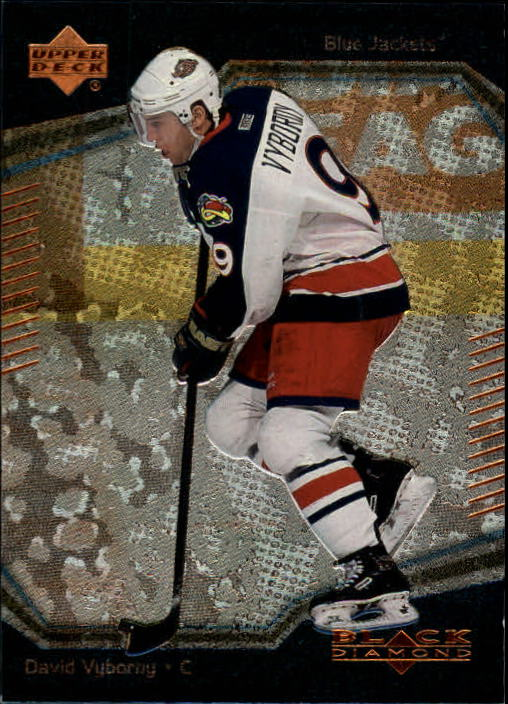 2000-01 Black Diamond #95 David Vyborny