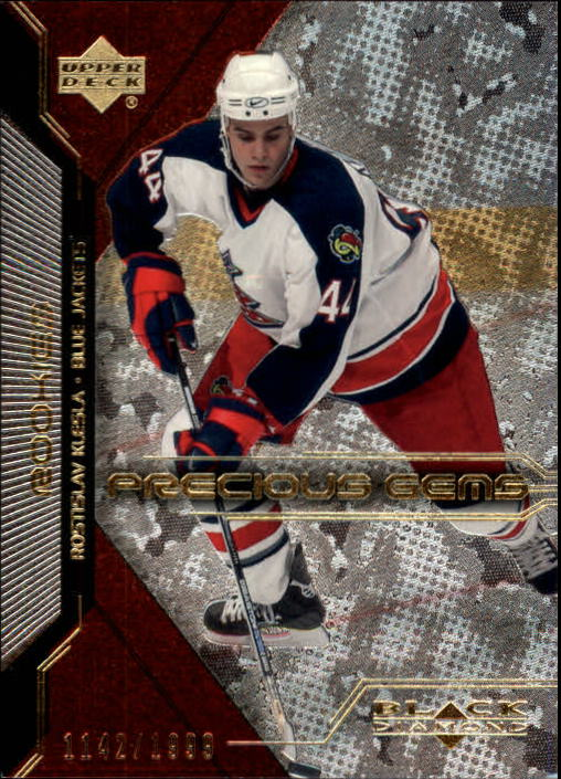 2000-01 Black Diamond #116 Rostislav Klesla RC