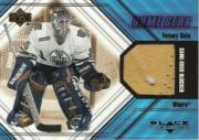 2000-01 Black Diamond Game Gear #BTS Tommy Salo Blocker