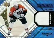 2000-01 Black Diamond Game Gear #GEL Eric Lindros Glove SP