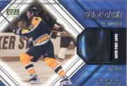 2000-01 Black Diamond Game Gear #GTH J.Thornton Glove Upd
