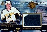 2000-01 Crown Royale Premium-Sized Game-Worn Jerseys #8 Brett Hull/317