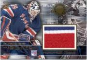 2000-01 Crown Royale Premium-Sized Game-Worn Jerseys #17 Mike Richter/346