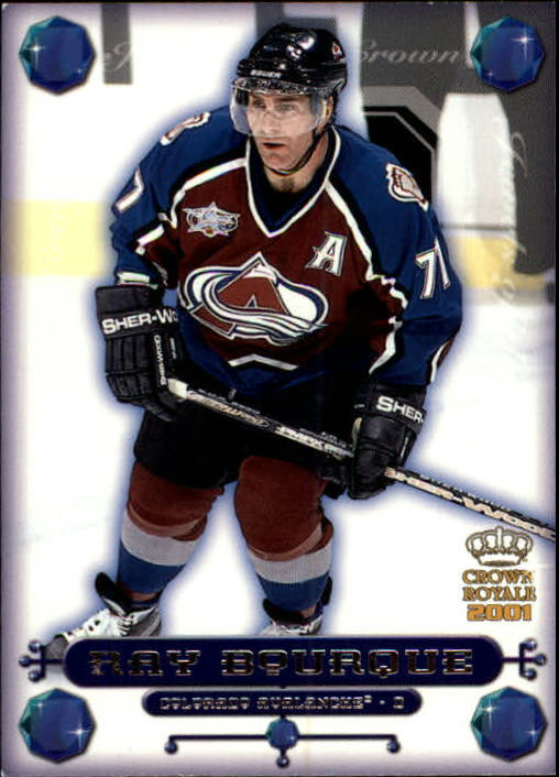 2000-01 Crown Royale Jewels of the Crown #7 Ray Bourque front image