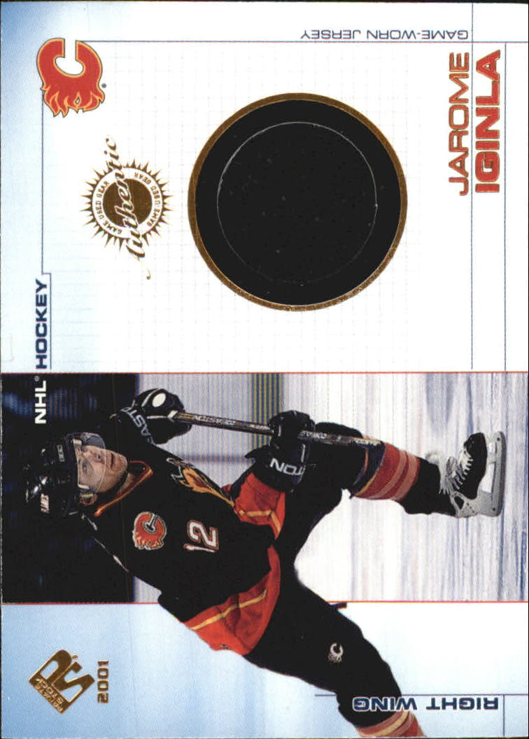 2000-01 Private Stock Game Gear #11 Jarome Iginla J