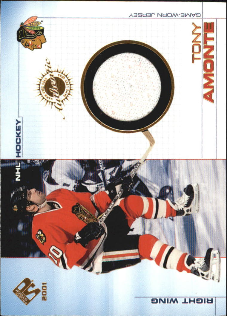 2000-01 Private Stock Game Gear #15 Tony Amonte J
