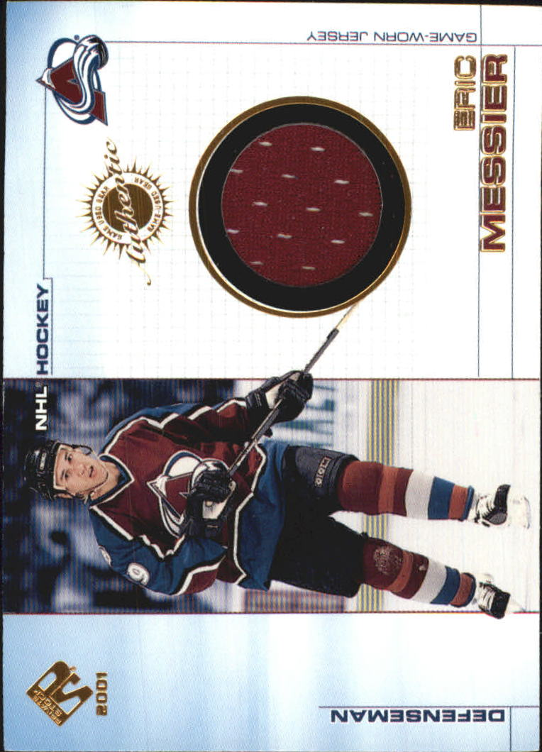 2000-01 Private Stock Game Gear #26 Eric Messier J