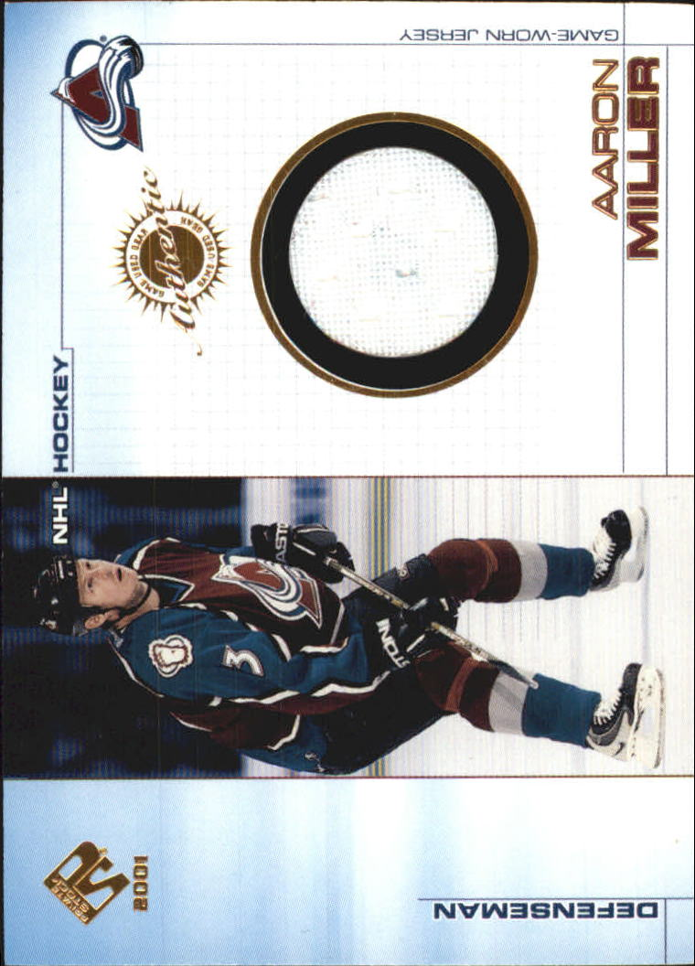 2000-01 Private Stock Game Gear #27 Aaron Miller J
