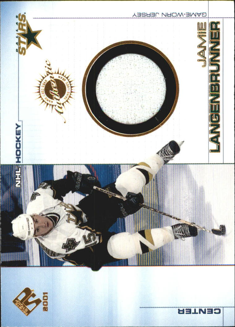 2000-01 Private Stock Game Gear #37 Jamie Langenbrunner J