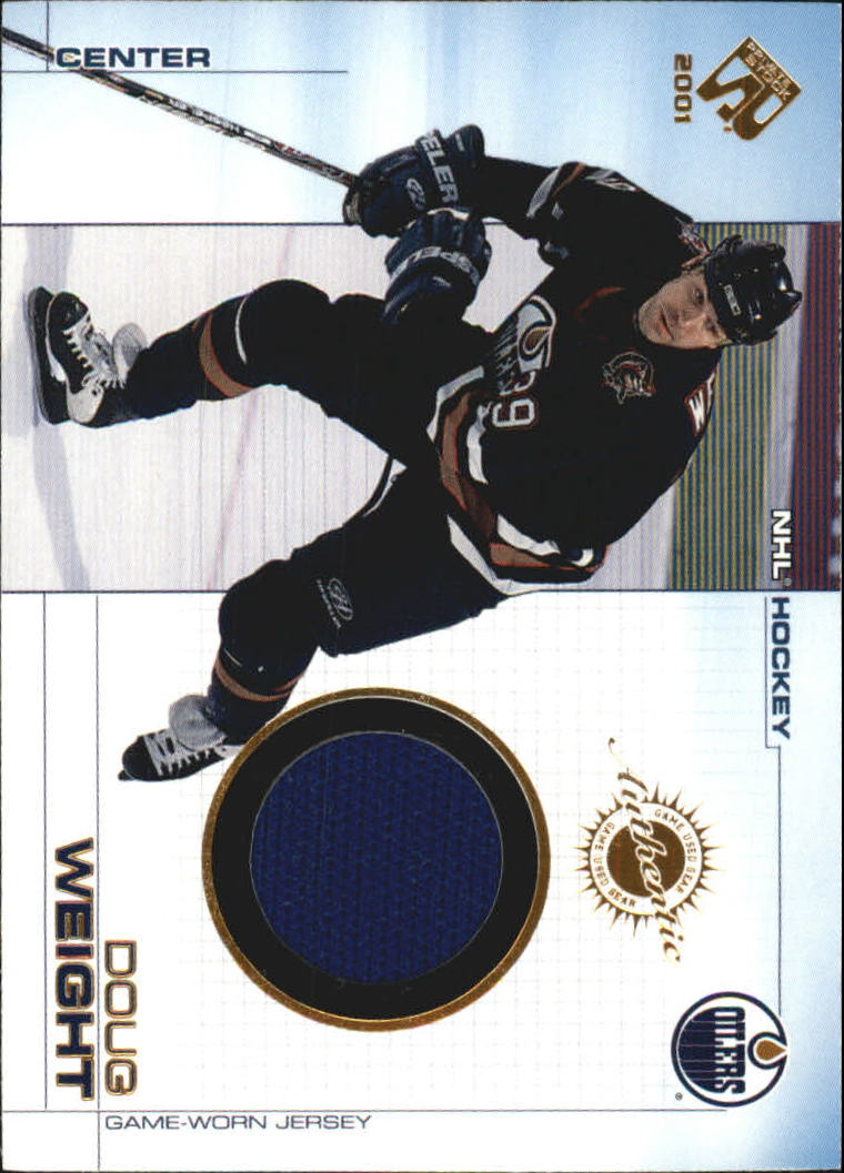 2000-01 Private Stock Game Gear #50 Doug Weight J