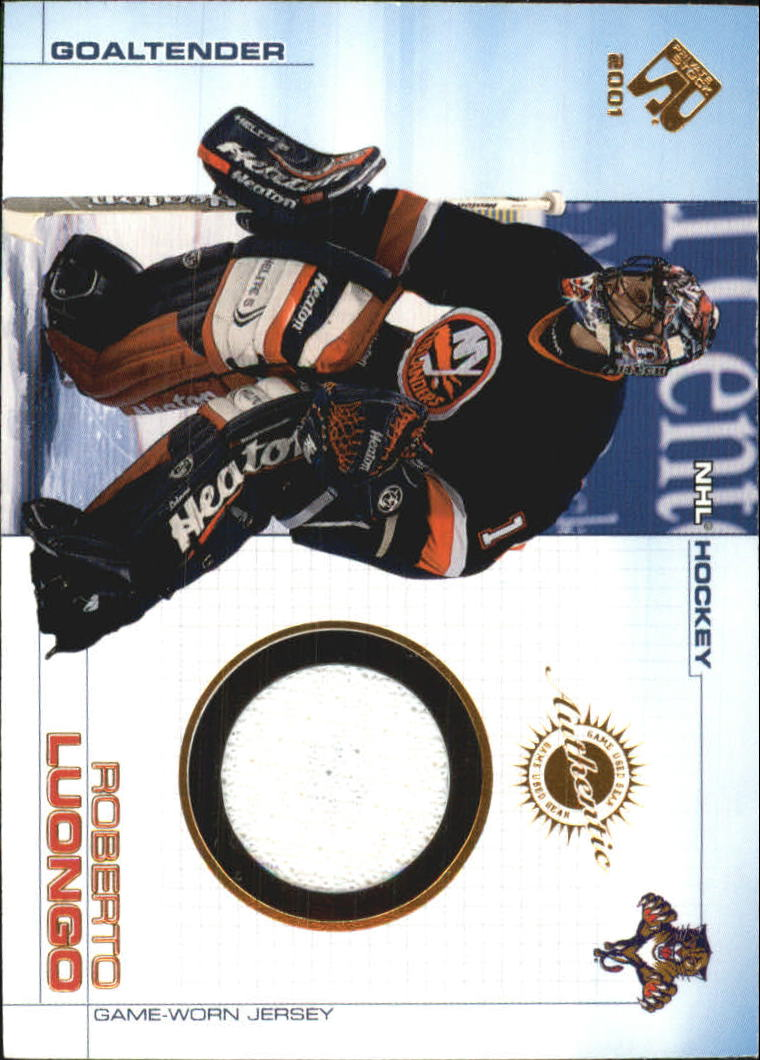 2000-01 Private Stock Game Gear #52 Roberto Luongo J