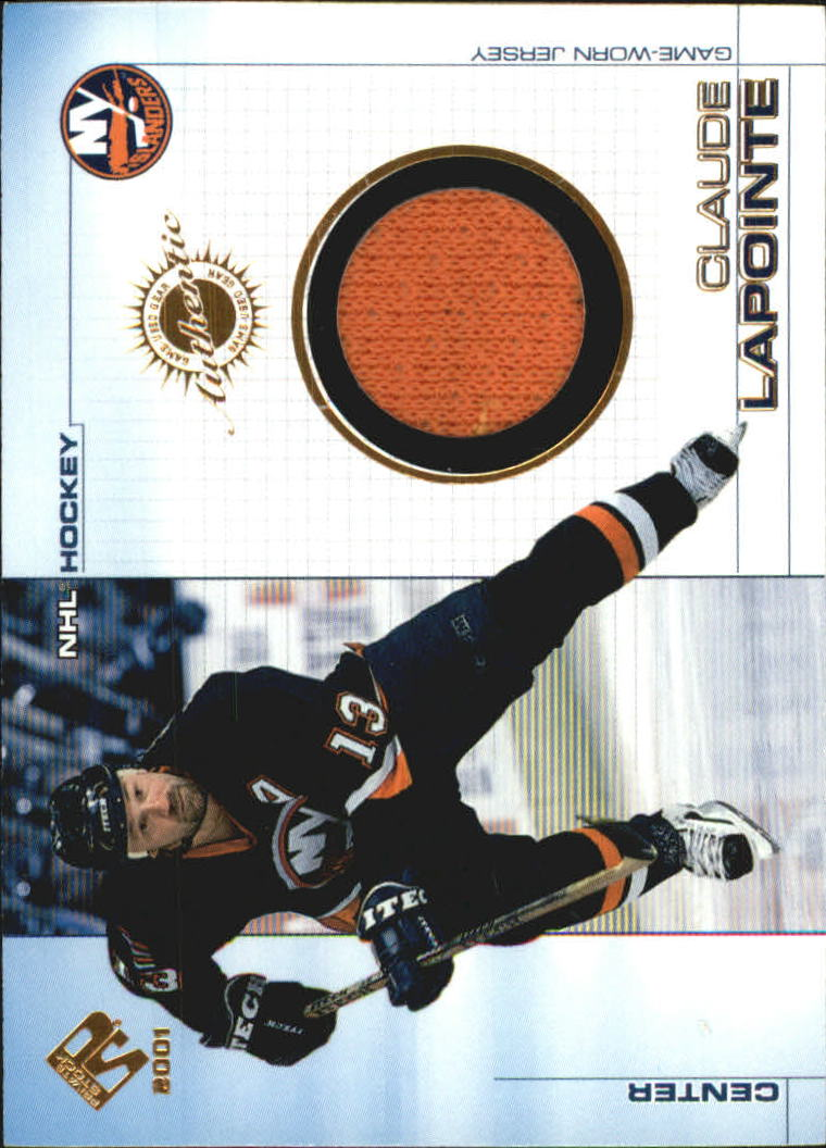 2000-01 Private Stock Game Gear #70 Claude LaPointe J