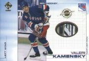2000-01 Private Stock Game Gear #74 Valeri Kamensky S
