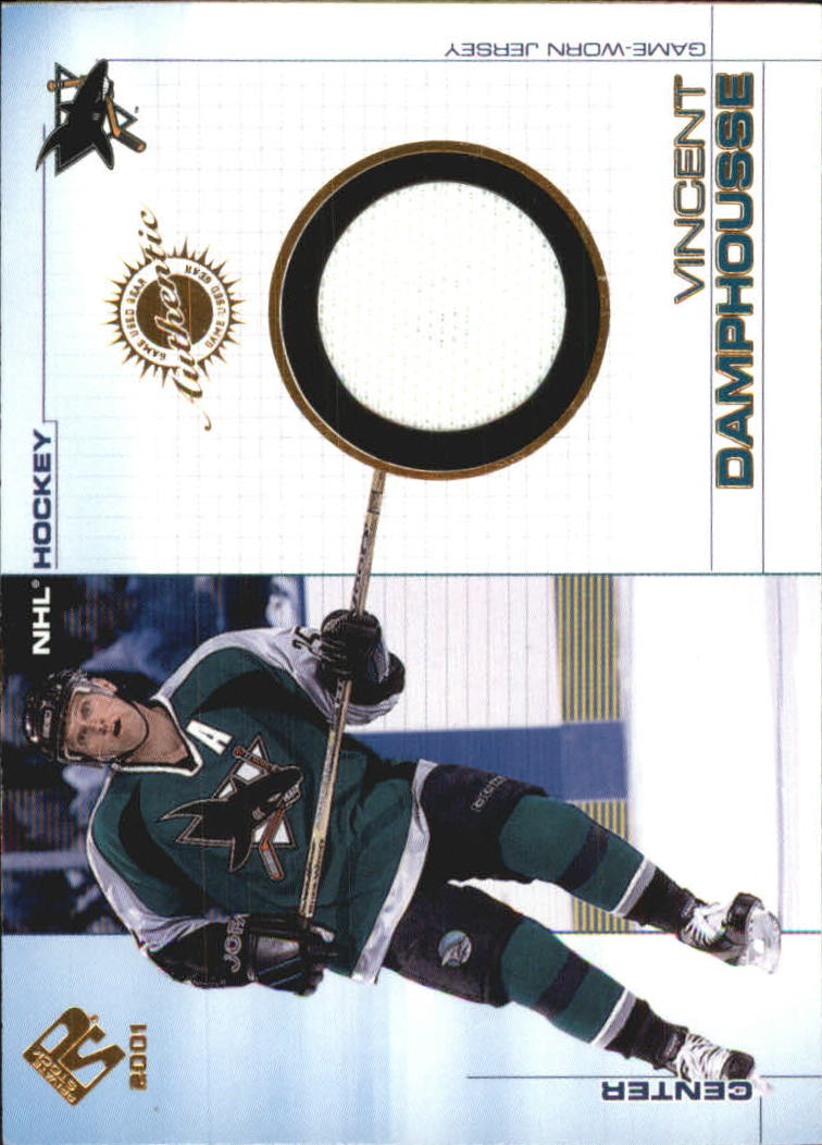 2000-01 Private Stock Game Gear #91 Vincent Damphousse J