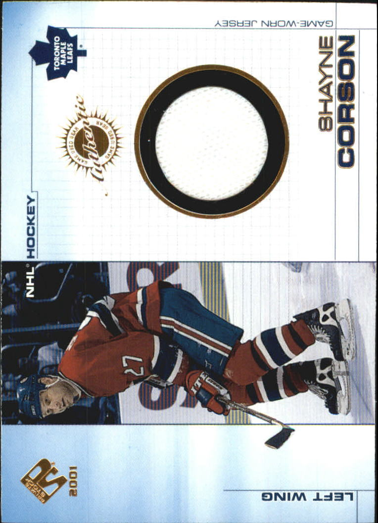 2000-01 Private Stock Game Gear #95 Shayne Corson J
