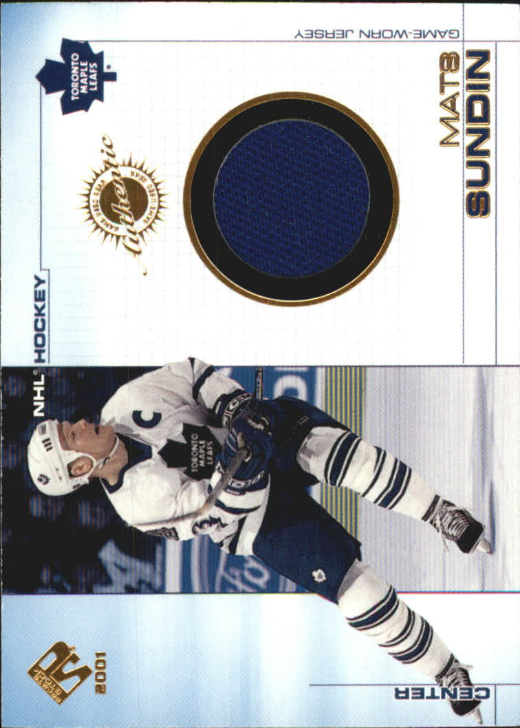 2000-01 Private Stock Game Gear #99 Mats Sundin J