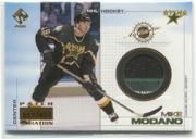 2000-01 Private Stock Game Gear Patches #39 Mike Modano/417