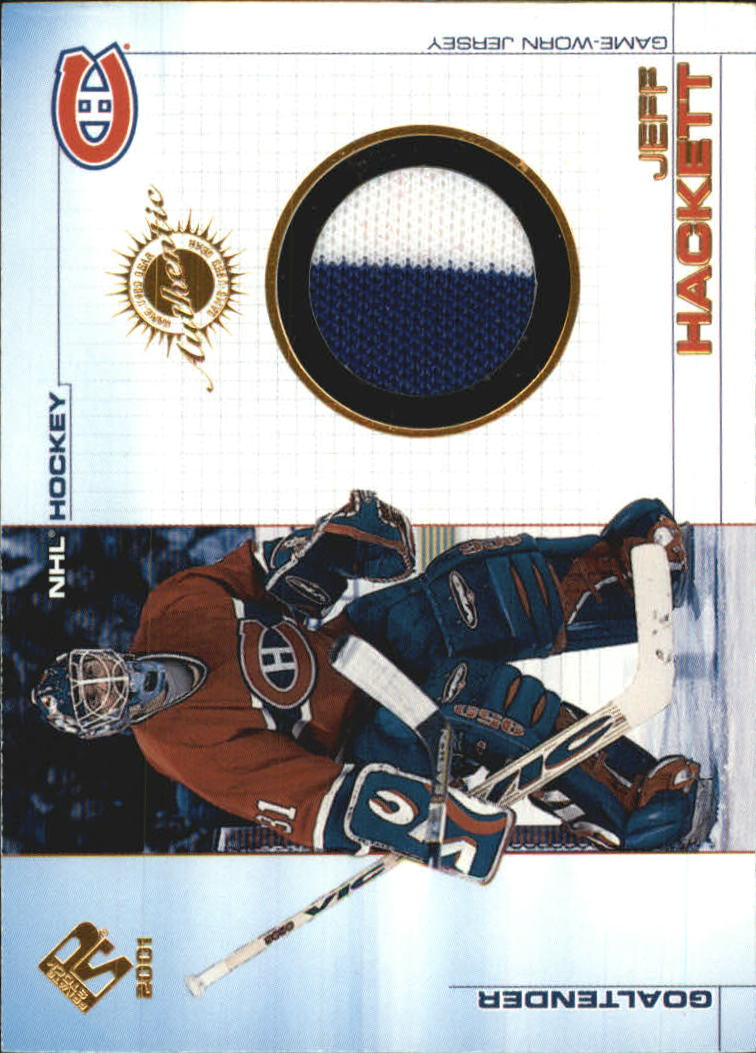 2000-01 Private Stock Game Gear Patches #50 Doug Weight/162