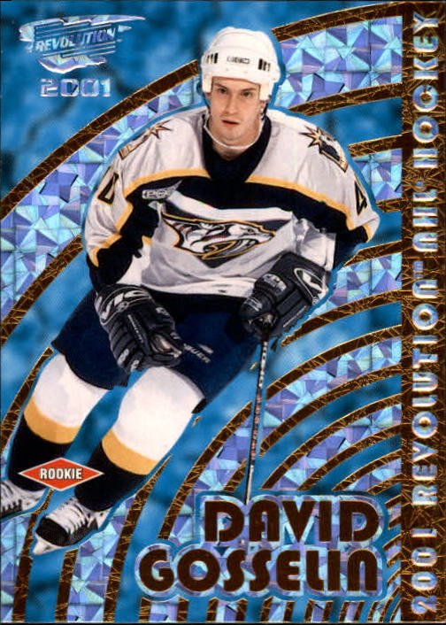 2000-01 Revolution #81 David Gosselin RC