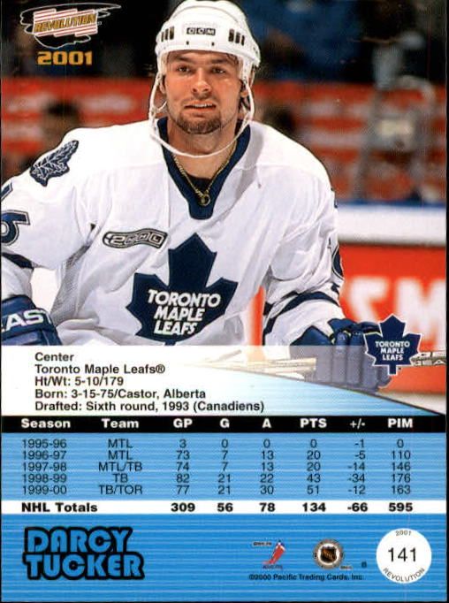 2000-01-Revolution-Hockey-Card-Pick