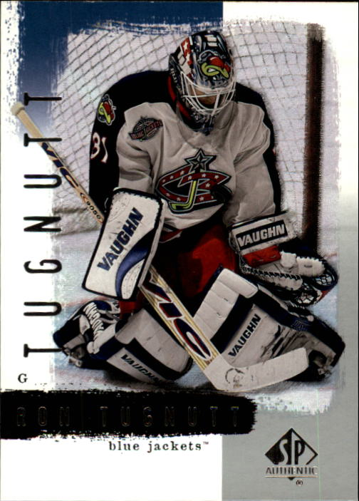2000-01 SP Authentic #26 Ron Tugnutt