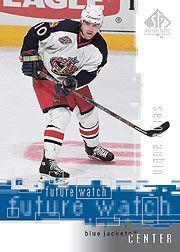 2000-01 SP Authentic #100 Serge Aubin RC