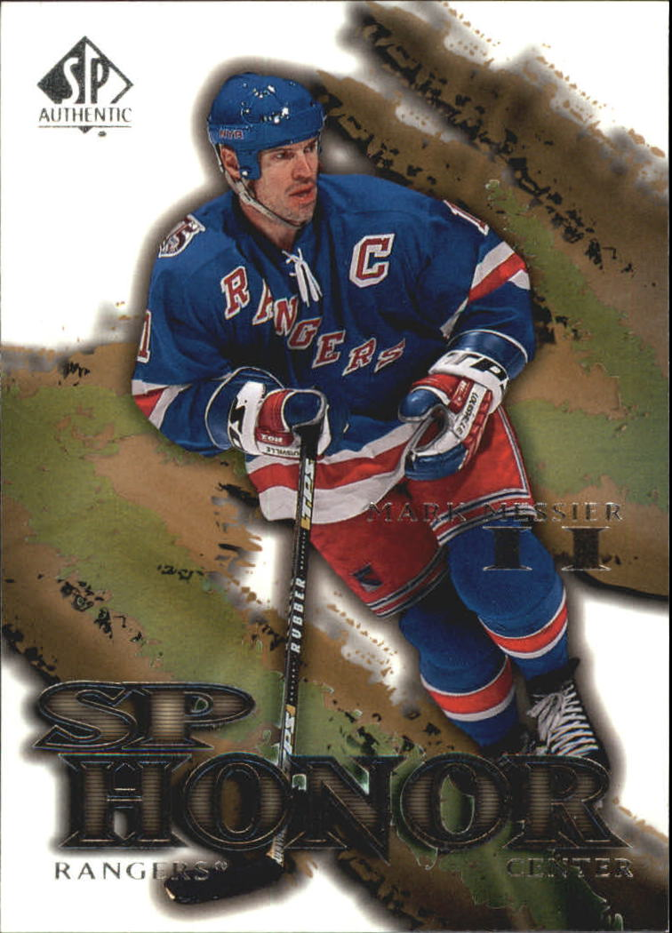 2000-01 SP Authentic Honor #SP5 Mark Messier