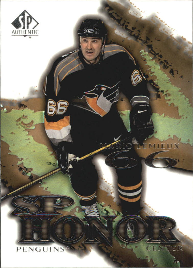 2000-01 SP Authentic Honor #SP6 Mario Lemieux