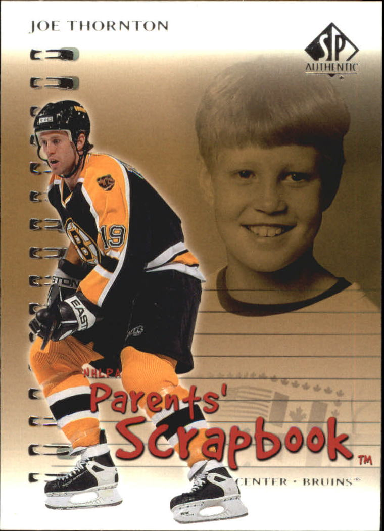2000-01 SP Authentic Parents' Scrapbook #PS2 Joe Thornton