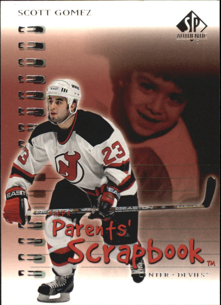2000-01 SP Authentic Parents' Scrapbook #PS4 Scott Gomez