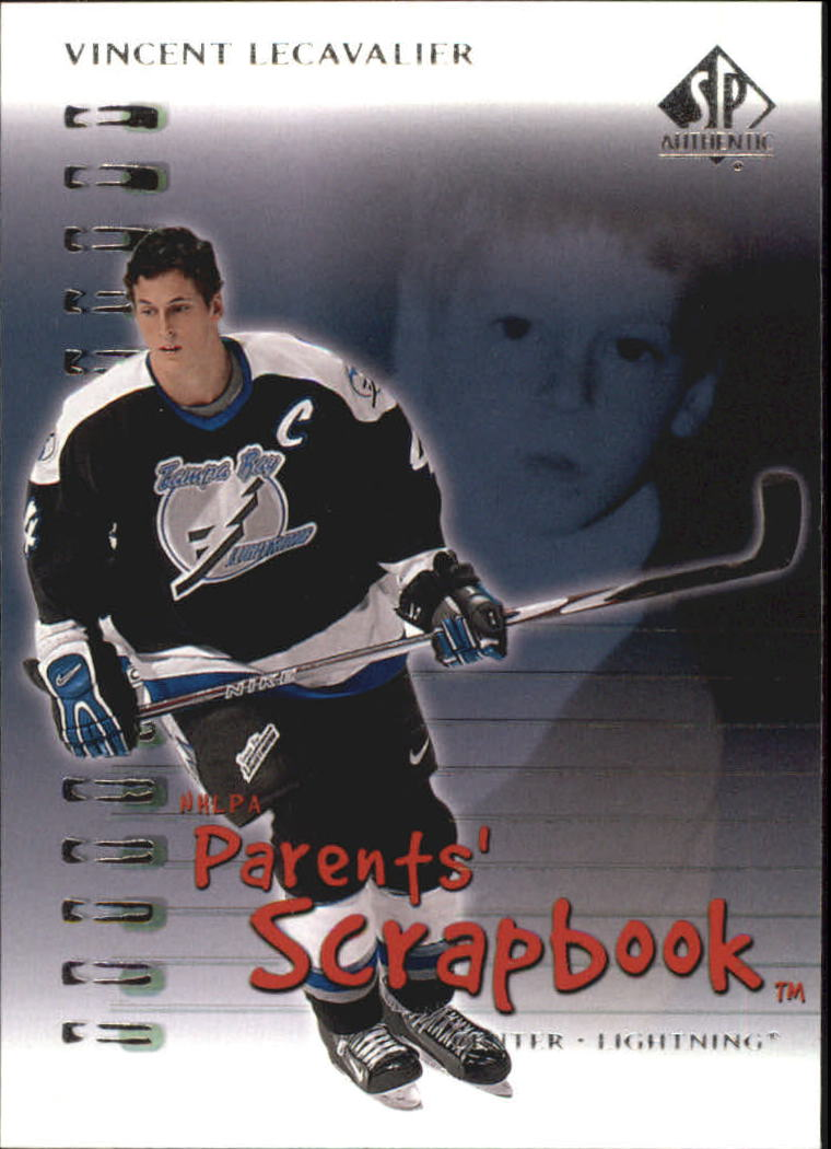 2000-01 SP Authentic Parents' Scrapbook #PS7 Vincent Lecavalier