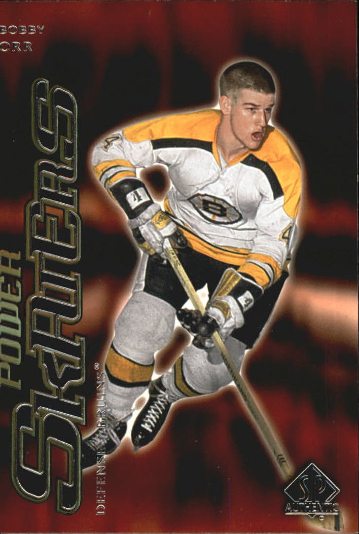 2000-01 SP Authentic Power Skaters #P1 Bobby Orr