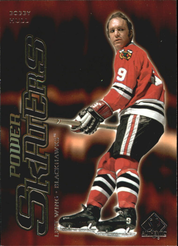 2000-01 SP Authentic Power Skaters #P2 Bobby Hull