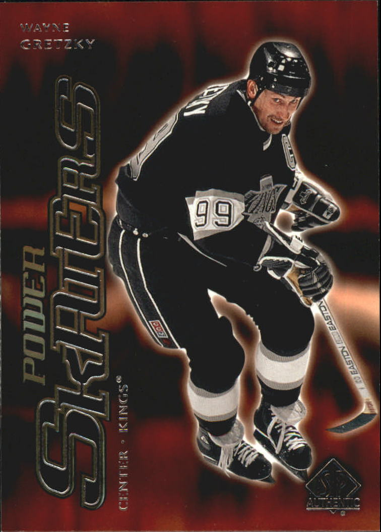 2000-01 SP Authentic Power Skaters #P5 Wayne Gretzky