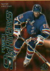 2000-01 SP Authentic Power Skaters #P7 Wayne Gretzky